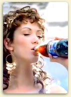Delta Goodrem in Pepsi Goddess Ad